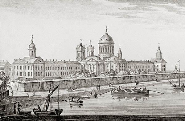 Неизвестный автор. Литография. Санкт-Петербург, 1820-е годы