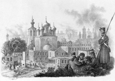 Эстампы по рисункам с натуры Х.В. Фабер дю Фора
