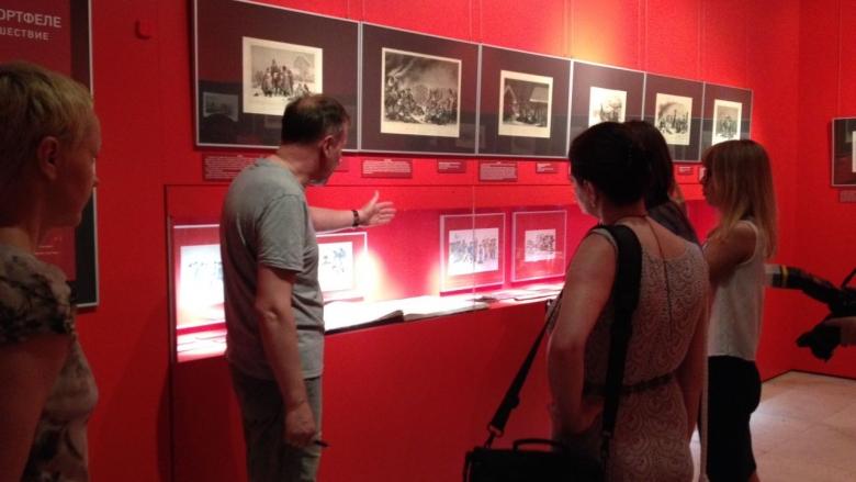 Экскурсия по выставке 1 августа 2017 г.